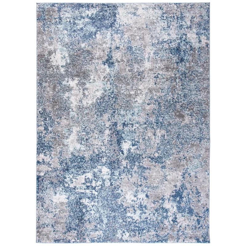 Mauney Abstract Navy Gray Area Rug In 2020 Area Rugs Grey Area Rug Rugs