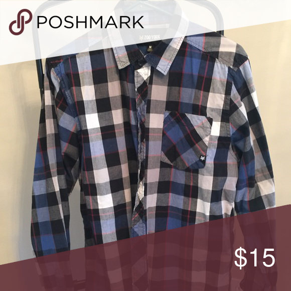 Plaid shirt Excellent condition Zoo York Shirts Casual Button Down Shirts
