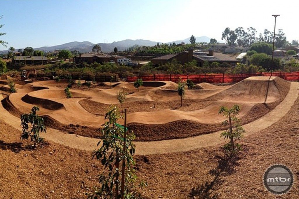 Schneider's Pump Track Bike pump track, Motocross tracks