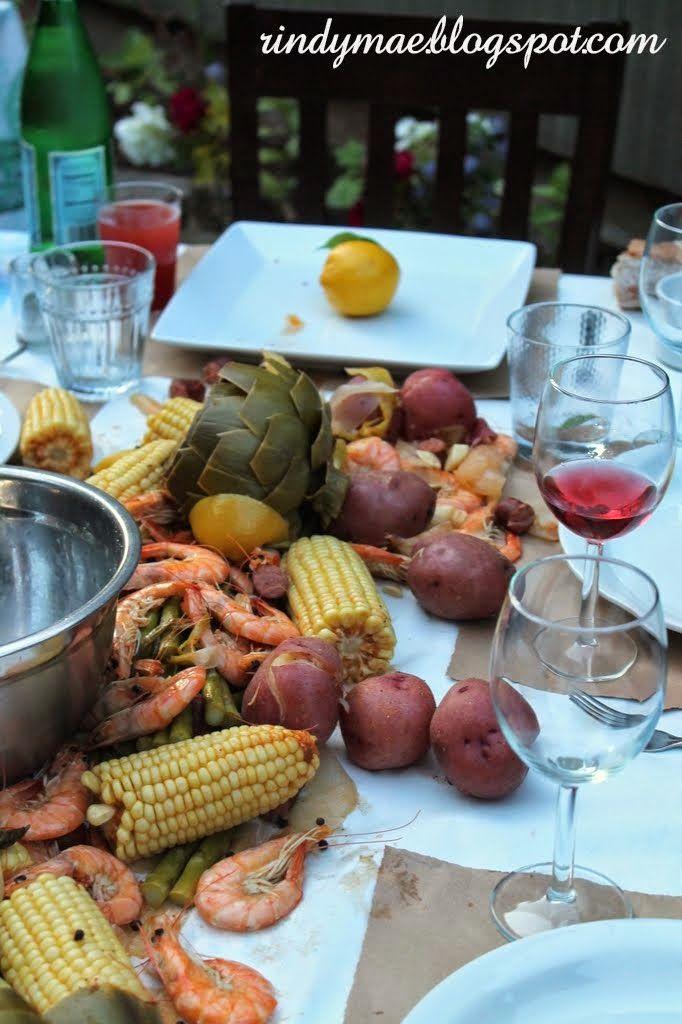 Crab Boil Party