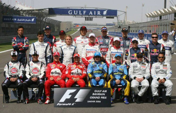Pilotos Formula 1 2006