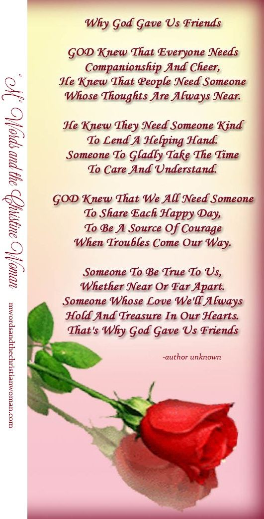 What A True Thought Thank You For Being My God Given Friends