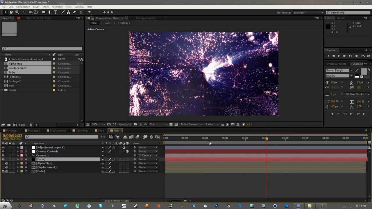 Adobe After Effects Tutorial #1 - Trapcode Particle