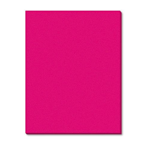 Riverside Construction Paper, 76 Lbs., 18 X 24, Holiday Red, 50 Sheets/pack