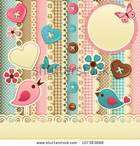 Vector Download » Scrapbook template - » Free Vector Graphics free ...