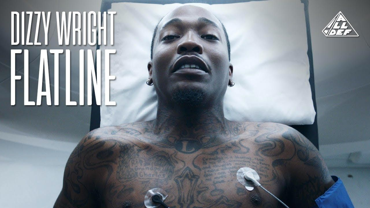 dizzy wright - flatline (official music video) | real | pinterest