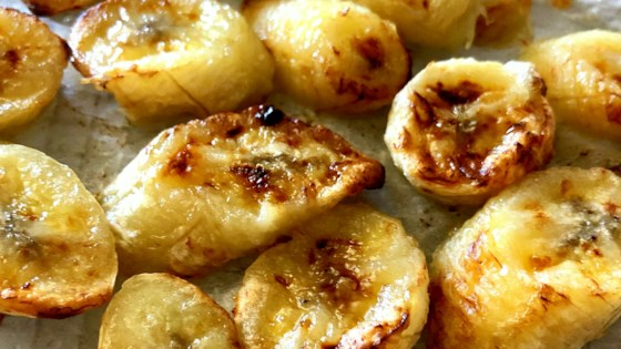Air Fryer Roasted Bananas Recipe in 2020 Roasted