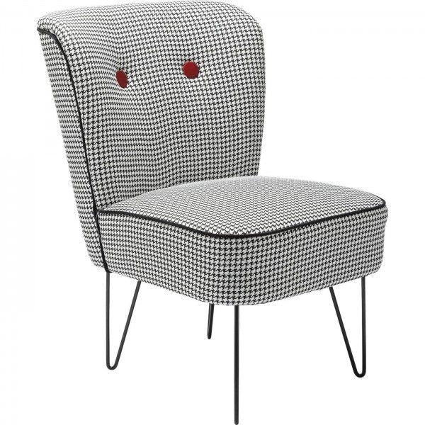 silla Florida blanco y negro | Tiendas On | Muebles retro pop ...