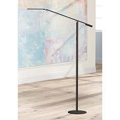 Koncept Gen 3 Equo Warm Light Led Floor Lamp Black Black Floor Lamp Floor Lamp