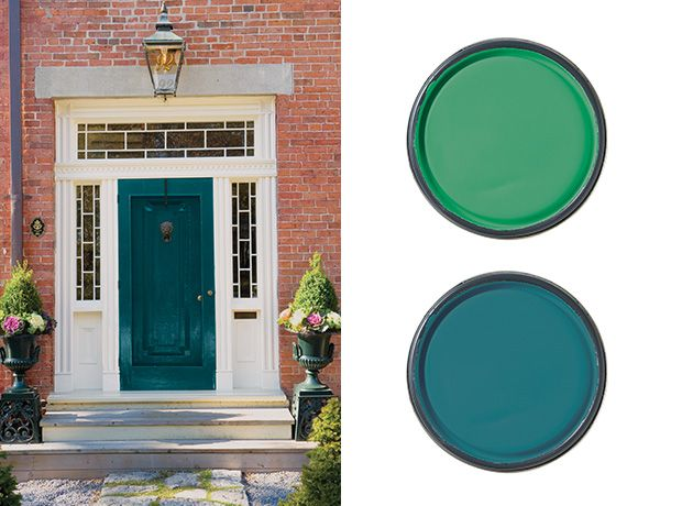 best front door paint colours | door paint colors, front doors and