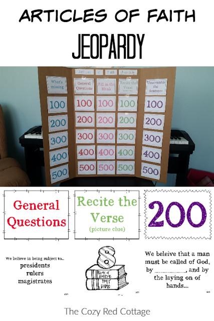 Articles of Faith Jeopardy