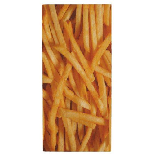 French Fry Wood Flash Drive