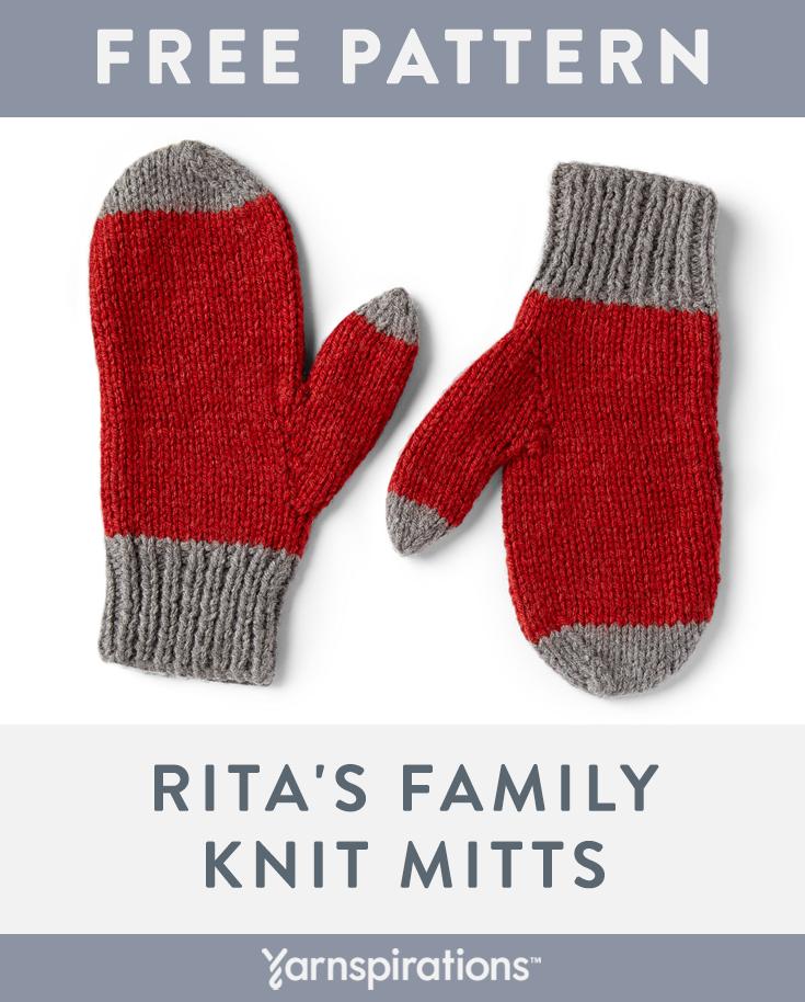 Free knit pattern using Red Heart Super Saver yarn. Free ...