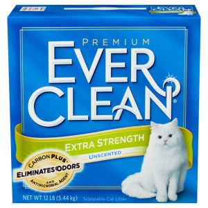 Ever Clean Extra Strength Unscented Litter For Cats Petsmart Cat Litter Clay Cat Litter Cat Litter Brands