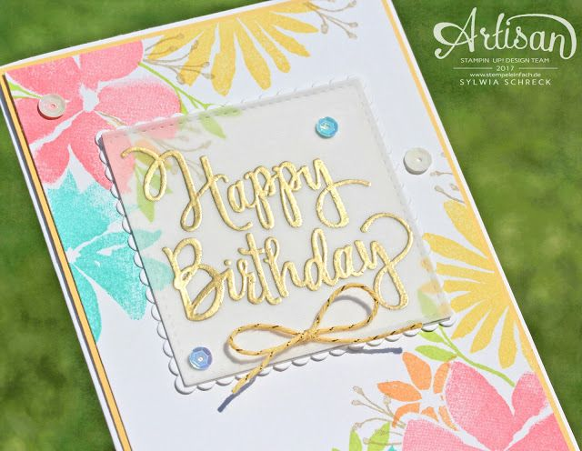 Stampin Up Durch Die Blume 2017 18 Stampin Up Annual Catalogue