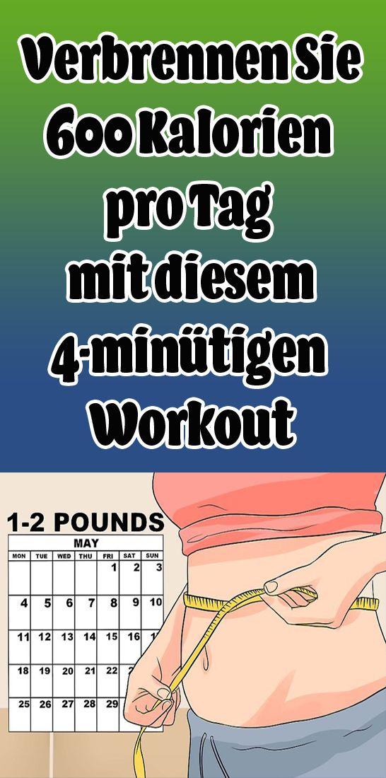 Photo of Verbrennen Sie 600 Kalorien pro Tag mit diesem 4-minütigen Workout