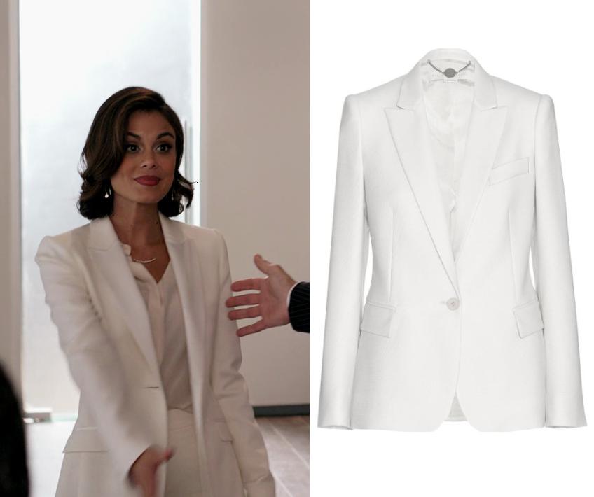 Dynasty Season 1 Episode 12 Cristal S White Blazer Shop Your Tv