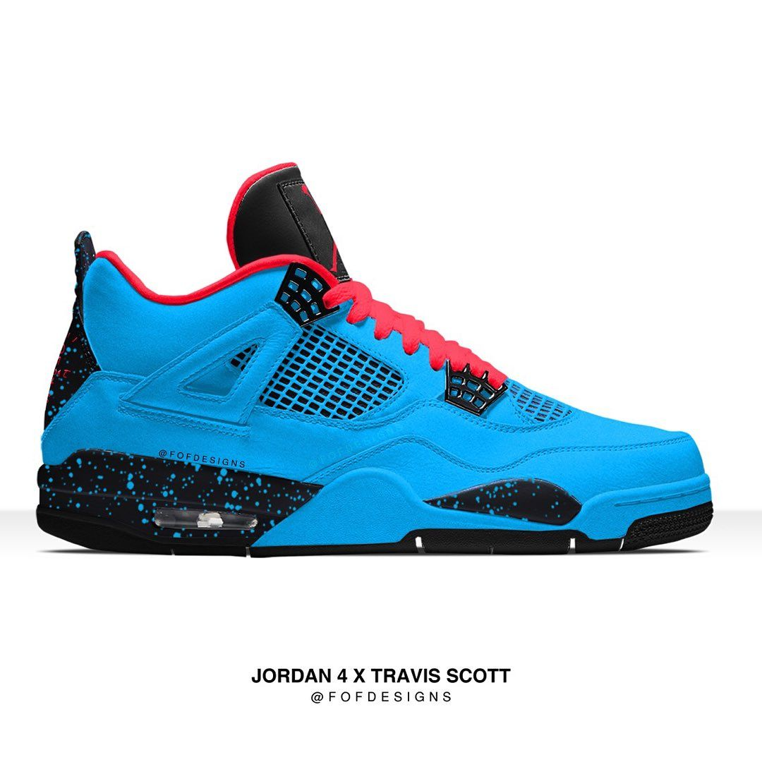 Travi  Scott x Air Jordan 4