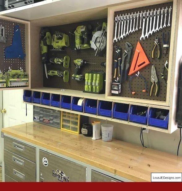 Photo of #garagetoolstorage #workshopstorage #Garage #Workshop #Layout – Lagerung