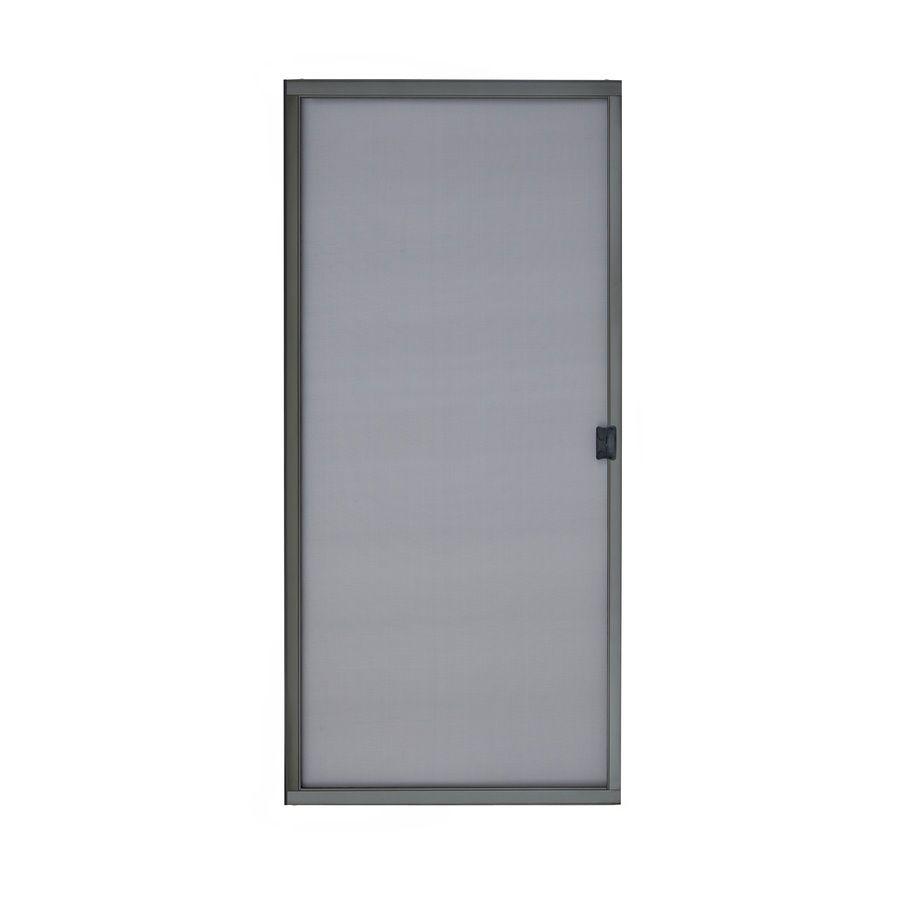 Reliabilt Bronze Steel Sliding Screen Door Common 30 In X 80 In