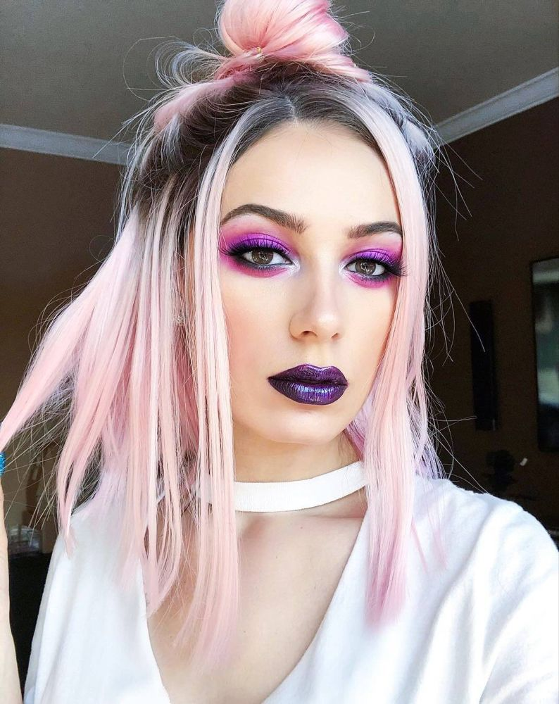 30 More Edgy Hair Color Ideas Worth Trying Edgy hair