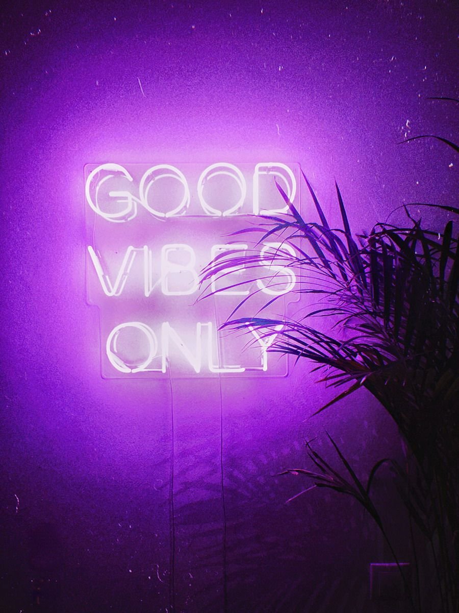 Good Vibes Only Real Glass Neon Sign For Bedroom Garage Bar Man Cave Room Home Decor Handmade Artwork Wall Lighting Includes Neon Signs Neon Sign Bedroom Neon