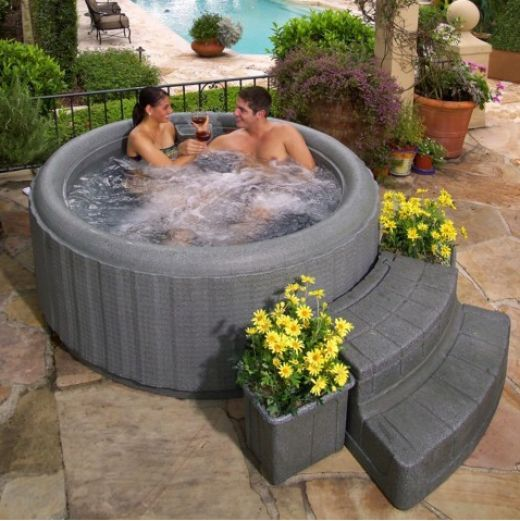 You Might Have Usually Heard About Hot Bathtubs Or Spa Bathtubs Fixed In A  Bathroom. Lazy SpaHot Tub GazeboPortable ...