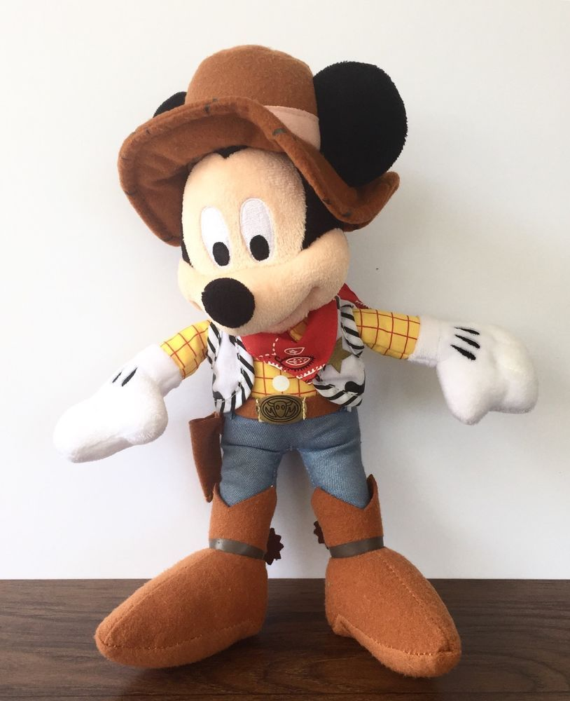 Authentic Pillow Pets Mickey Mouse Disney Hat Plush Toy Gift