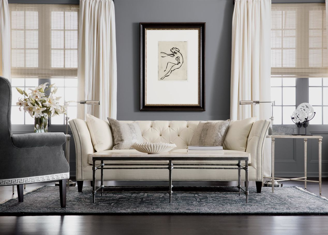 surprising ethan allen living room design ideas pictures remodel decor | Shelton Sofa, Quick Ship | Glamour living room, Living ...