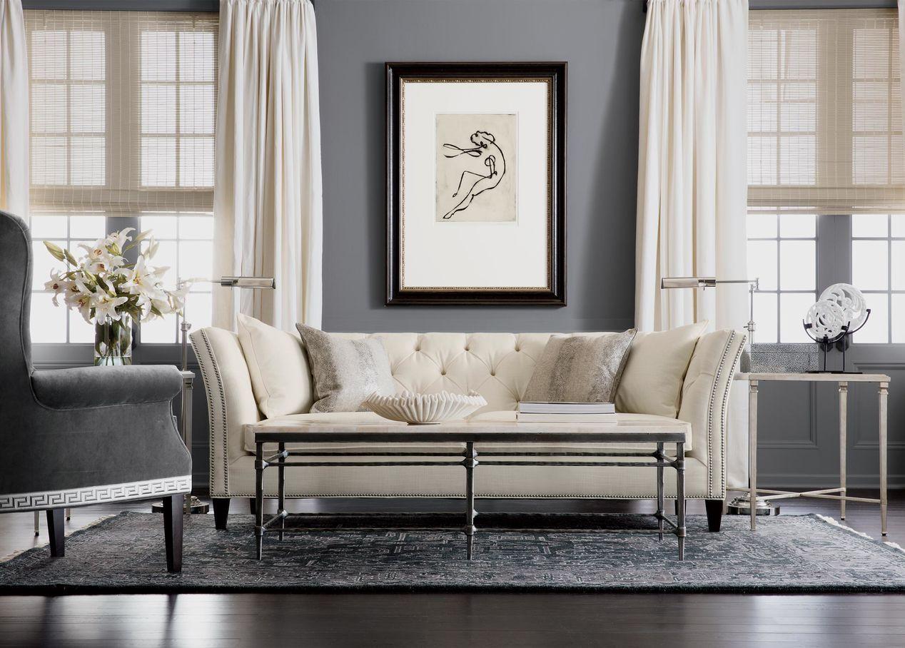 Heriz Deconstructed Rug Charcoal Glamour Living Room Living