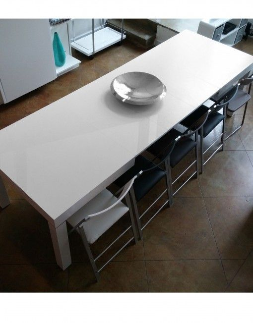 The Pillar Dining Table That Extends To