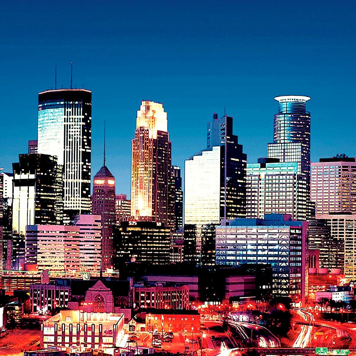 Minneapolis Skyline | Places I've Been | Minneapolis ...