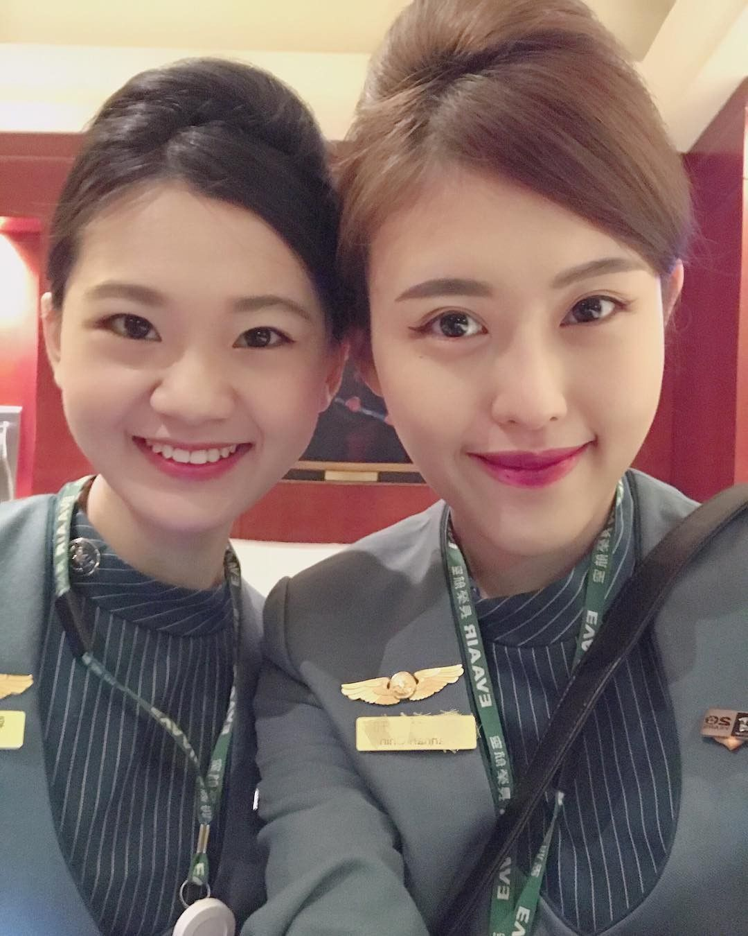 【台湾】エバー航空(長榮航空)客室乗務員 旧制服ver./Eva Air cabin crew 客室乗務員