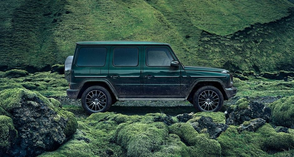 A Rock Steady Debut For The New Mercedes Benz G Class In Detroit Classic Driver Magazine Mercedes Suv Auto
