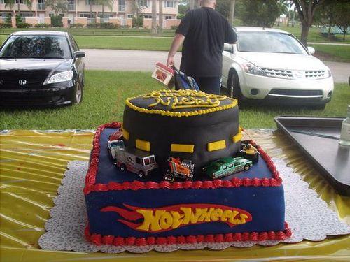 Walmart Hot Wheels Cake