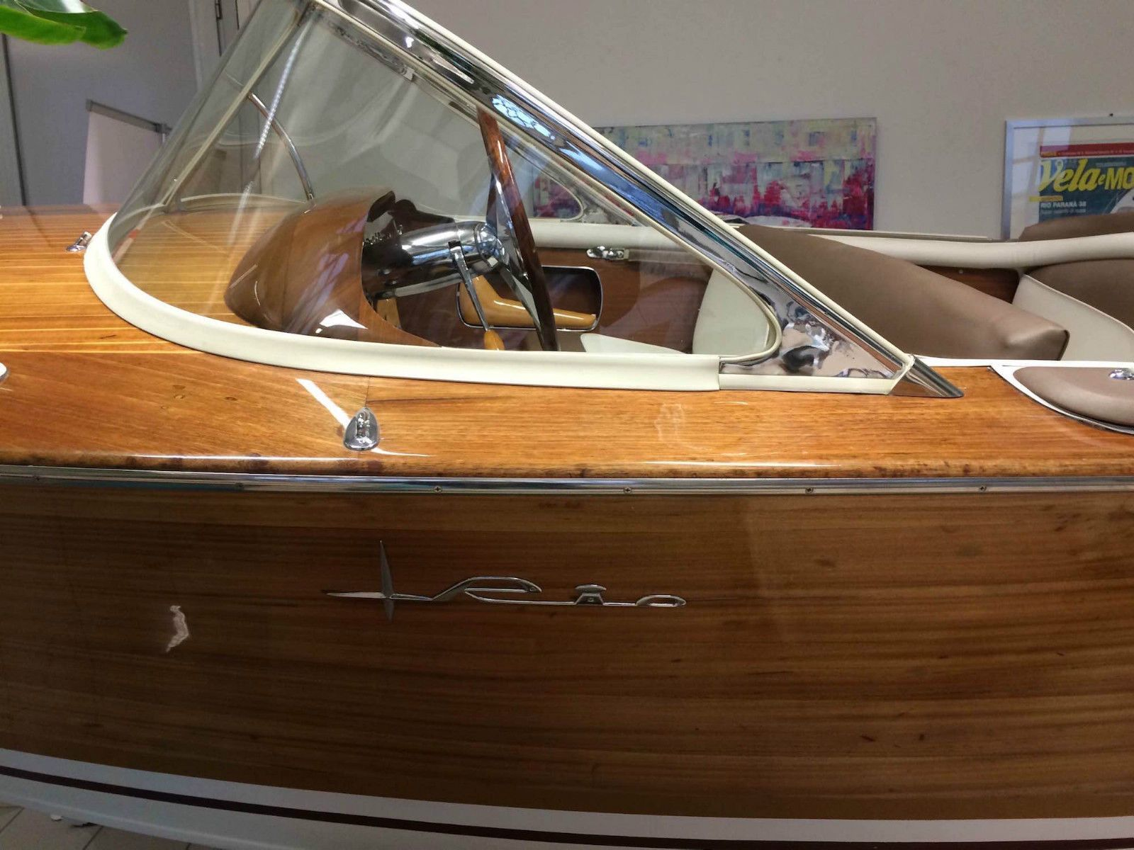 Mahagoni holzboot  Rio Espera Vintage Mahagoni Boot 1963 Riva Pinin Piantoni ...