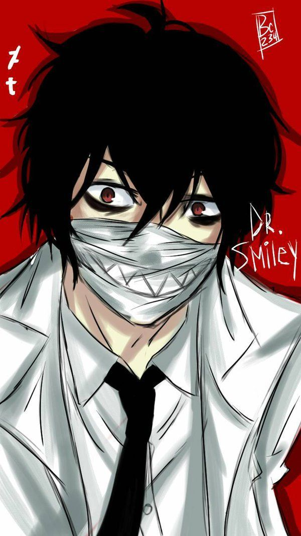 CREEPYPASTA DR SMILEY | Creepypasta slenderman, Creepypasta cute ...