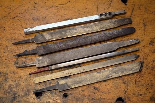 Homemade Wood Mini Scrapers Skew Chisels From Hss Drill Bits Woodworking Woodworking Tools Router Woodworking Tools Storage