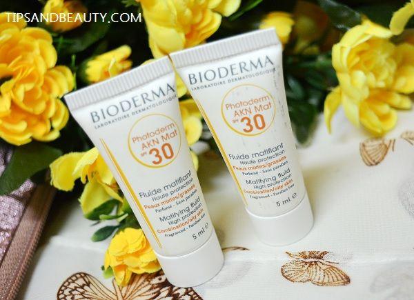 Bioderma Photoderm Akn Mat Sunscreen Spf 30 Review Spf Sunscreen