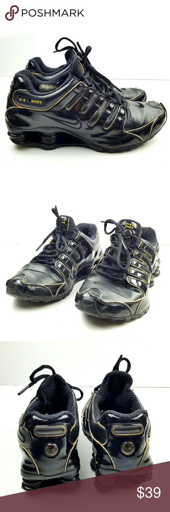 Nike Talla Shox Mujeres Nike Shox Zapatillas Zapatillas Talla Nike 7 Color Negro Con f109db