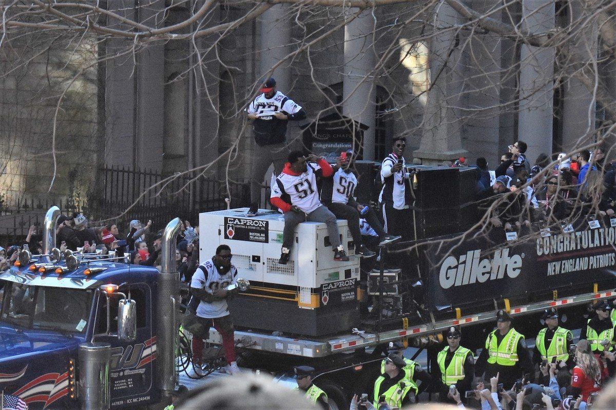 Photos New England Patriots Super Bowl Parade 2019 New England Patriots Patriots New England Patriots Football