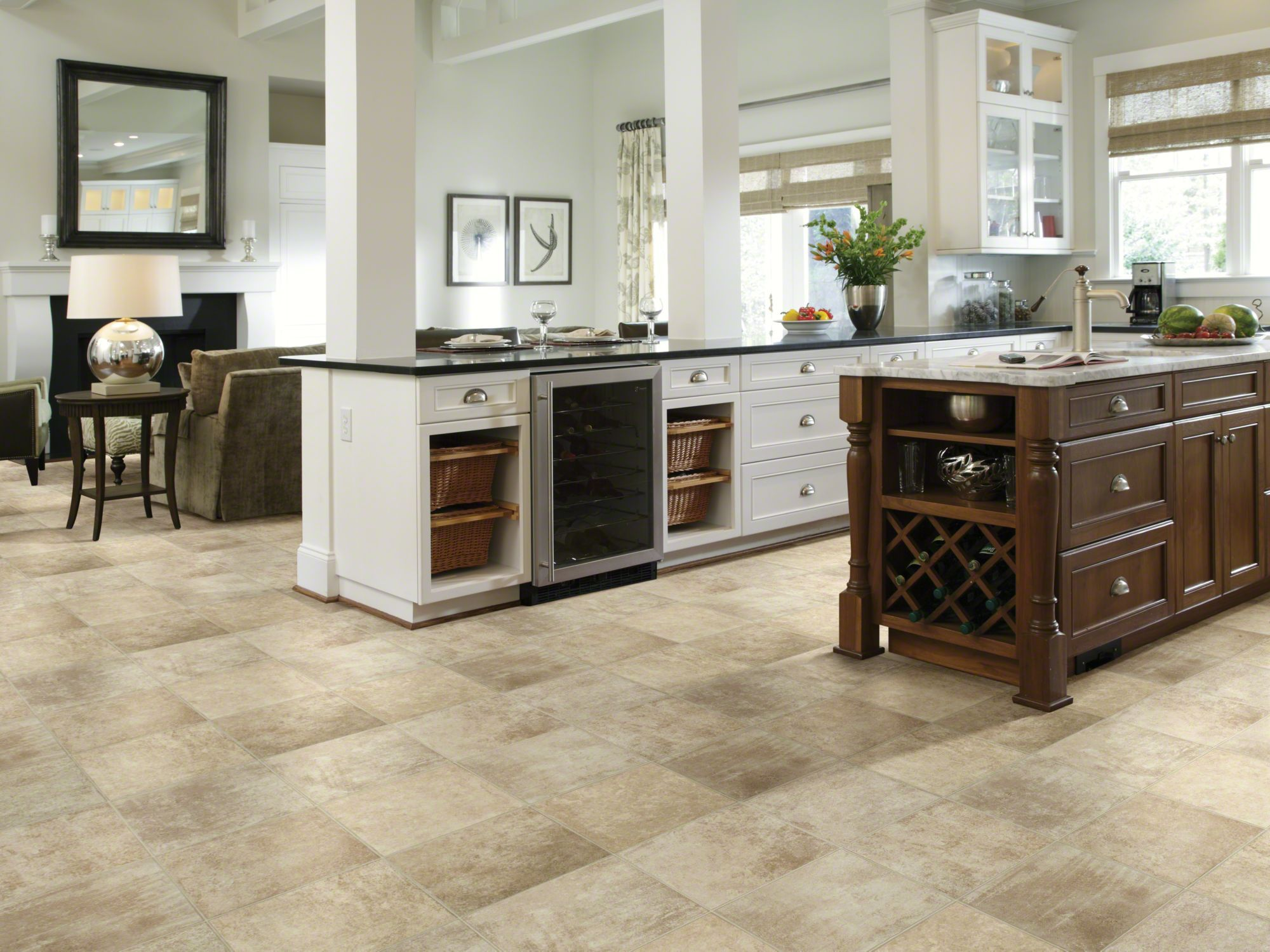 Shaw S Hercules Crete Resilient Vinyl Flooring Is The Modern Choice For Beautiful Durable Floors Wide Variety Of Patterns Colors In Plank