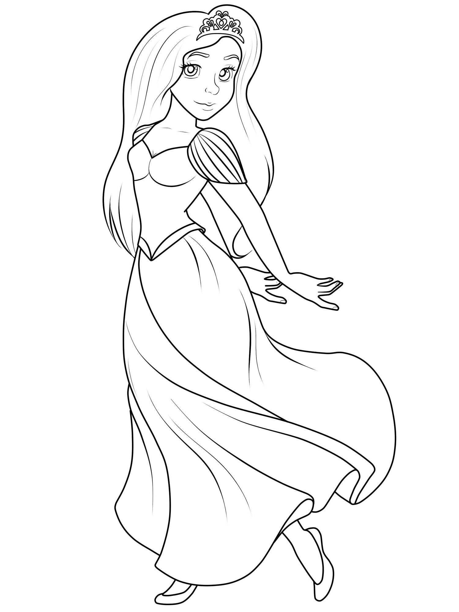 Wunderbar Princess Malvorlagen Drucken Zeitgenossisch Malvorlagen Ideen Decentexposure Info Malvorlagen Malvorlage Prinzessin Prinzessin