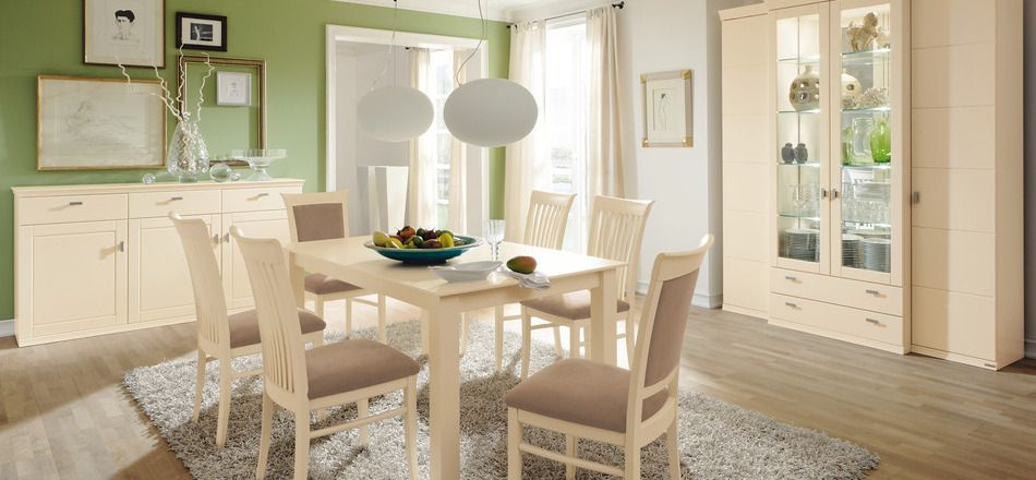 29 Modern Dining Rooms To Get Inspired From Green dining room - wohnzimmer beige modern
