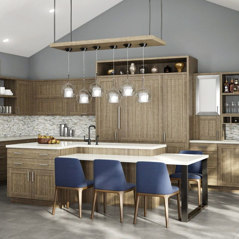 Modern Custom Cabinetry Artizen Fusion Tss Sedona