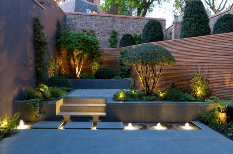 Iluminacion exterior - el jardín que no conocías jardines