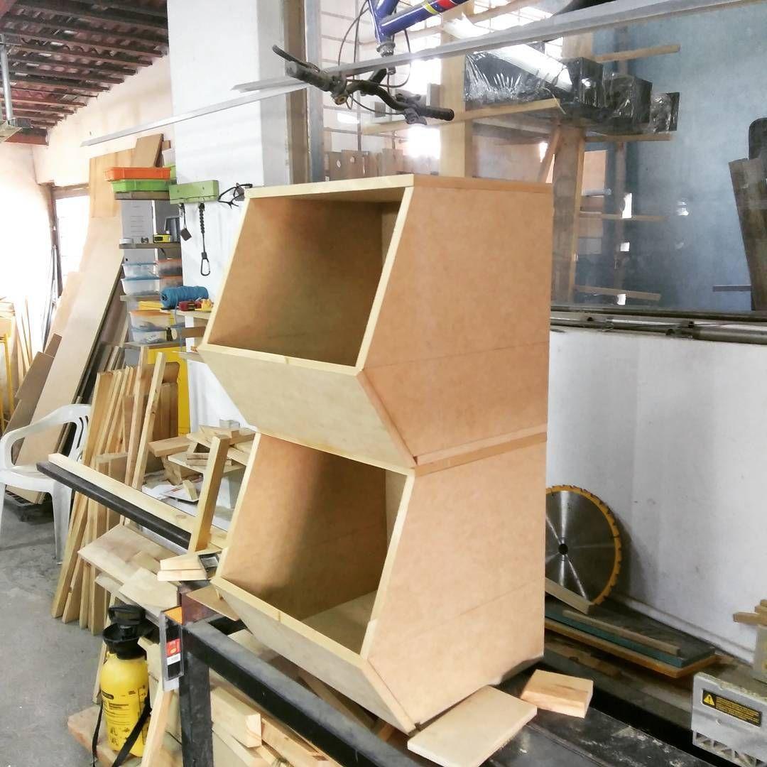 Cajas organizadores apilables proyectitos pinterest - Angulos de madera ...