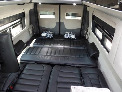 d92278993d 2017 Airstream Interstate Ext Lounge 9 Passenger Mercedes Benz Sprinter Van  Conversion - YouTube Mercedes Sprinter