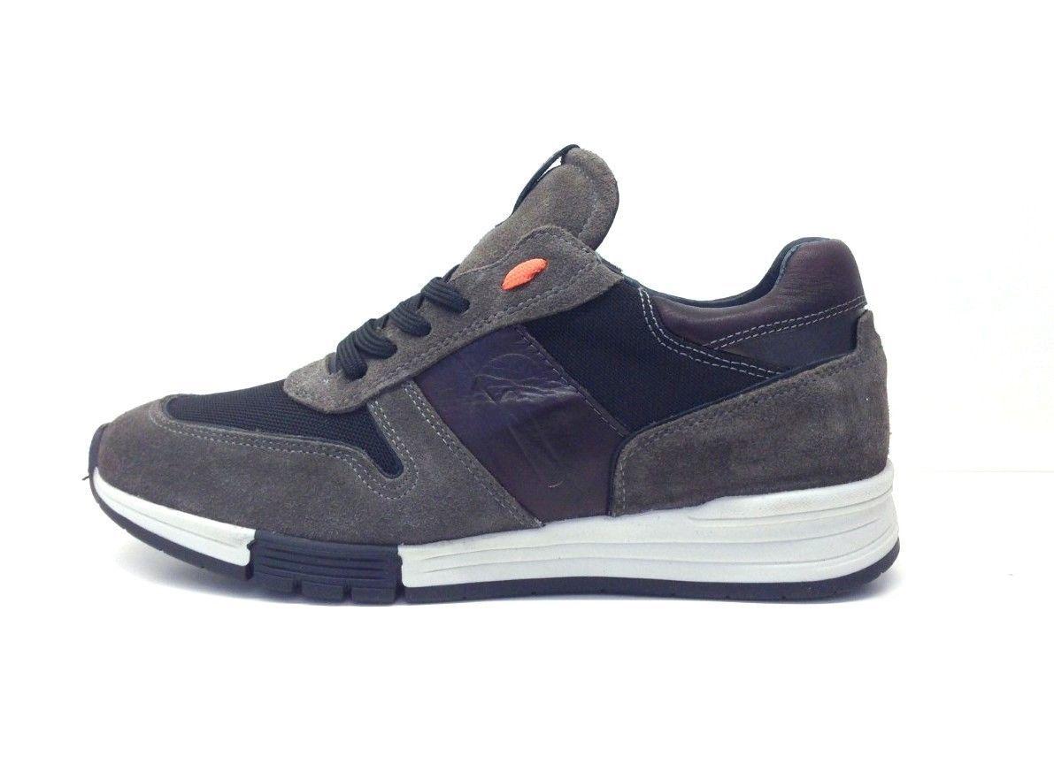 new product 6f54e bad91 IMPRONTE scarpe uomo sneakers RIO MAN SUEDE IM162013 blu ...
