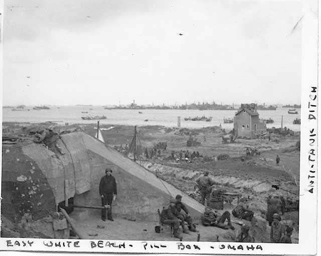 Pill Box And Anti Tank Ditch Omaha Beach Misidentified